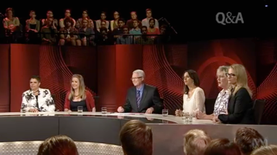 #qanda panel 8th April 2013